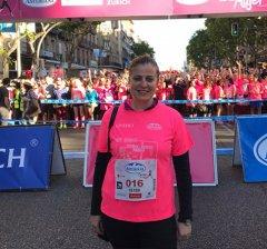 La madrileña Laura Luengo gana la Carrera de la Mujer que pinta de rosa las calles