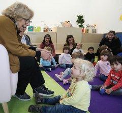 """Manuela Carmena: """"La lectura es fundamental y hay que fomentarla desde la infancia"""""""