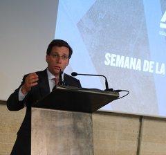 Almeida apuesta por repensar Madrid para mejorar la calidad de vida de sus ciudadanos
