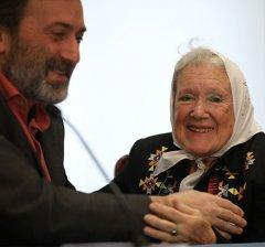 Madrid reconoce a Nora Cortiñas su defensa y lucha por los derechos humanos