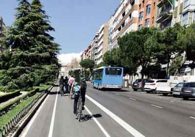 Madrid, en bici
